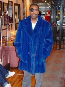 slick rick the ruler in royal blue mink Yves Klein Blue, Hip Hop Artists, Furs, Ruler, Mink, Famous People, Royal Blue, Fur Coat, Raincoat