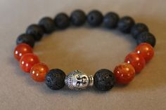 Fire Agate Buddha by StoneExpressions on Etsy