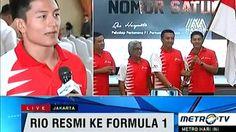 Rio Haryanto Resmi Ke Formula 1 Satu Satunya Wakil ASIA