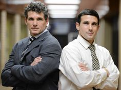 Brothers Jody (left) and Jeff Karam are area high school wrestling coaches. Jody coaches at Liberty and Jeff coaches at Bethlehem Catholic.