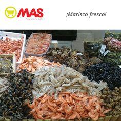 Marisco fresco, del mar a nuestras pescaderías! Para que disfrutes del fin de semana