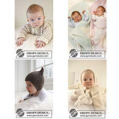 Strikkeopskrifter til baby Drop, Threading
