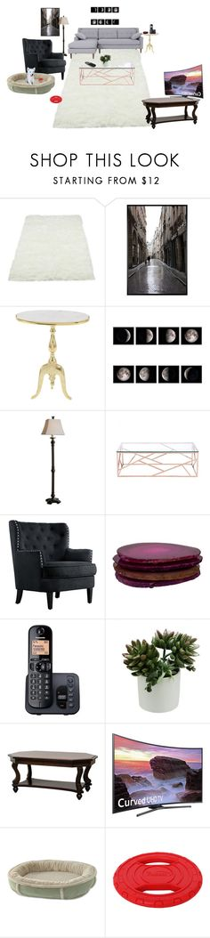 """""""My Dream Living Room"""" by bellalestrange49 on Polyvore featuring interior, interiors, interior design, home, home decor, interior decorating, Pottery Barn, Uma, Zuo and ANNA by RabLabs"""