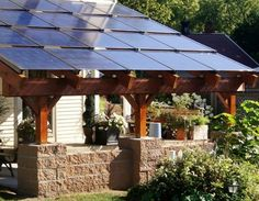 Solar Patio Cover Home Design Ideas, Pictures, Remodel And Decor | Deck |  Pinterest | Solar, Patios And Pergolas