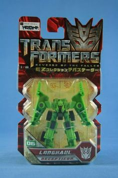 Transformers Takara EZ 06 LONGHAUL Revenge Of The Fallen MOSC