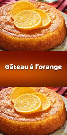 The famous orange cake easy and fast - Trend Christmas Cake 2019 Cake Recipes From Scratch, Easy Cake Recipes, Dessert Recipes, Almond Pound Cakes, Olive Oil Cake, Cupcakes, Orange Recipes, Savoury Cake, Homemade Cakes
