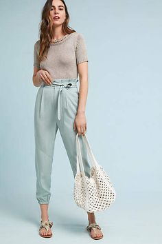 Greylin Selter Joggers #anthropologie #joggers #ad