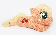 Amigurumi crochet pattern for a My Little Pony