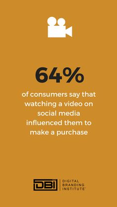 of consumers say that watching a video on social media influenced them to make a purchase. Email Marketing, Content Marketing, Social Media Marketing, Digital Marketing, Search Optimization, Media Influence, Website Maintenance, Site Analysis, Web Design Services