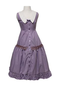 Cute violet dress for a classic lolita Kawaii Fashion, Lolita Fashion, Violet Dresses, Gyaru, Lolita Dress, Fairy, Fashion Outfits, Summer Dresses, Pop