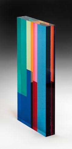 Vasa Velizar Mihich. #2465. Laminated acrylic. 1985.