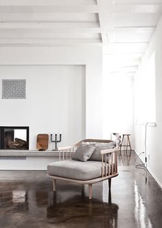 Nordic minimalism & shiny concrete floor   Norm Architects