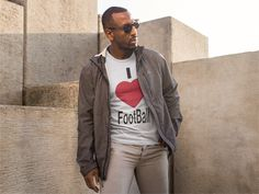 Discover I Love Football T-Shirt from BigJim's Shirt Shop only on Teespring - Free Returns and 100% Guarantee - LIMITED EDITION        Guaranteed safe & secure...