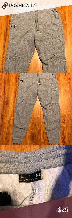 Unisex Under Armor Joggers Sweatpants Gray Under Armor jogger sweatpants Under Armour Pants Sweatpants & Joggers