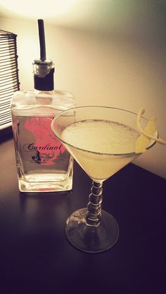 2/22/13 Drink of the Week,The Gin-Ger Snap.
