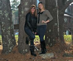 Two Generations and a Celebration of our Vet's cougar boots and fergalicious boots