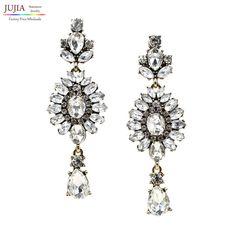 New 2017 fashion jewelry hot sale women crystal earrring , statement stud Earring #Affiliate