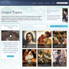 New Gospel Topics Page Encourages Personal and Family Study - Church News and Events