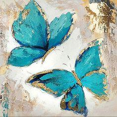 blue butterfly oil painting~~MUCHAS AÑOS MAS DE FELICIDAD. QUIERANSE RESPETENSE Y AMENSE.. TIENEN UNA HERMOSA FAMILIA... TU PA Y YO LES DESEAMOS AMOR ETERNO!!!