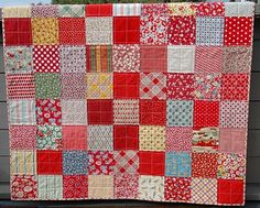 charm pack scrappy quilt