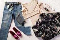 Nie haben wir uns so auf die neue Saison gefreut! Auf in den Frühling mit einem Paar perfekt gewaschener Jeans, einer bedruckten Statement-Jacke und den schönsten, glänzendsten Schuhen, die es gibt.
