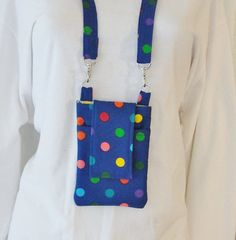 Cell Phone I-Phone Purse Pouch Small Bag by belairevillage on Etsy