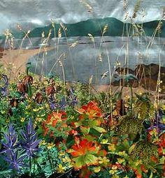 Art Quilts Landscapes | Quilts: # 1 Landscapes & Art Quilts / Crescent sand #quilt -- Amanda ...