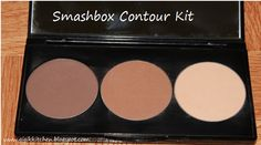 Gigi's Kitchen: Makeup Product Review: Smashbox Step By Step Contour Kit with Photos and Swatches