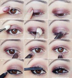 Cómo maquillarse los ojos de dia