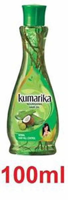 2 sold! more  available Kumarika Nourishing Hair Oil Herbal Hair Fall Control 100ml #Kumarika