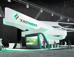 TATNEFT Exhibition Stand
