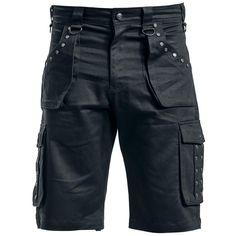 Originální kraťasy  Gothicana by EMP - Dark Summer Shorts    - 2 zasouvací…