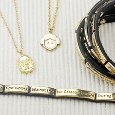 Love And Madness x Star Wars necklaces and wrap bracelets