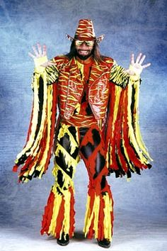 """Macho Man"" Randy Savage - This Ettire is just awesome!!!"
