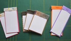 Matchbox Notepads  •  Make a matchbook notebook in under 10 minutes