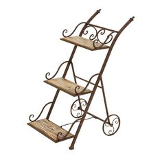 3-Tier Ladder Style Planter Stand