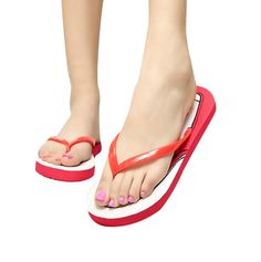 HP95(TM) Women's Shoes, Flat Sandals ,Girl's Indoor Outdoor Flip Flops Slippers -- Check this awesome product by going to the link at the image.