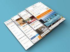 Refonte ergonomique & graphique en continu du site web, de la boutique Coffrets Cadeaux, des intranets & extranets Châteaux & Hôtels Collection. Adaptation Responsive des interfaces pour du multi-écrans.