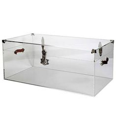 Lucite Coffee Table Trunk - Clayton Gray Home