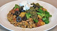 Skillet Taco Pasta Shells - One Pot Meal - Lynn's Recipes