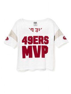 2b472f3ef10 paint it beautiful. 49ers KaepernickNiners Girl49ers OutfitForty Niners49ers  FansBest Football TeamSan Francisco 49ersVictoria Secret Pink49ers Apparel