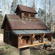 Maple Sugarhouse Bird House