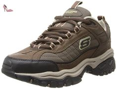72d8930f6cdd Skechers Mens Shoes Energy downforce lace up brown toupe size 8 NEW