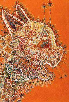 The Schizophrenic Psychadelic Art of Louis Wain - Mayhem & MuseMayhem & Muse Augustin Lesage, Trippy Cat, Louis Wain Cats, Psychadelic Art, Art Brut, English Artists, Naive Art, Outsider Art, Oeuvre D'art