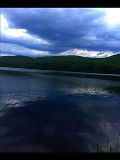 Lake Sherwood in Greenbrier County, West Virginia By Michael Allen Drumheller