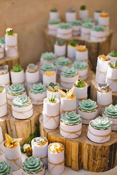 18 Delicious Prickly Wedding Cakes And Cupcakes ❤ See more: http://www.weddingforward.com/prickly-wedding-cakes/ #weddings #cakes