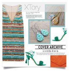 """XTory 3"" by amra-mak ❤ liked on Polyvore featuring Alice + Olivia, Aquazzura, Dorothy Perkins and XTory"