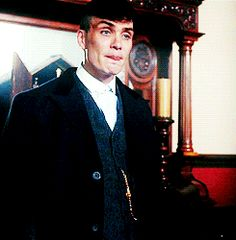 <b>Let's be real.</b> Thomas Shelby is a beautiful man.