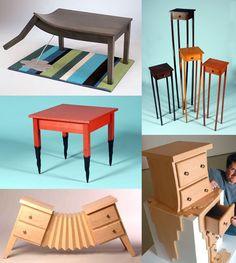 Strange furniture | Weird Furniture: Straight Line Designs