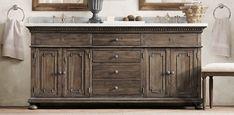 St. James | Restoration Hardware Master bath vanity except with different finish